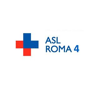 Marchio ASL Roma 4, cliente di Burlandi Franco Srl