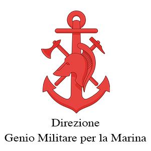 Stemma della Direzione del Genio Militare per la Marina, cliente di Burlandi Franco Srl