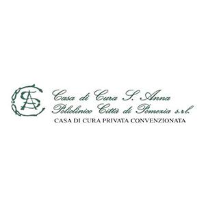 Marchio Casa di cura S.Anna di Pomezia, cliente di Burlandi Franco Srl